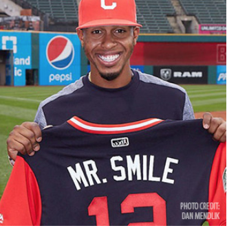"Baseball's Francisco Lindor Shines as ""Mr. Smile"""